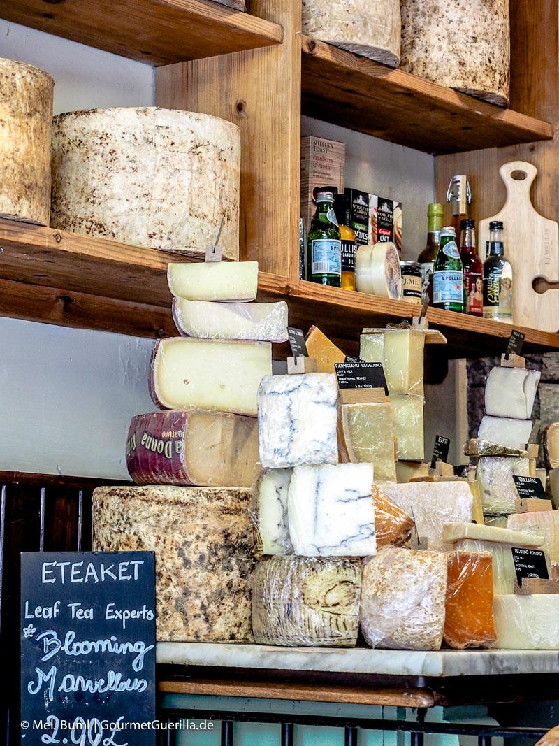 Kurz-Tripp Edinburgh Mellis Cheese|GourmetGuerilla.de