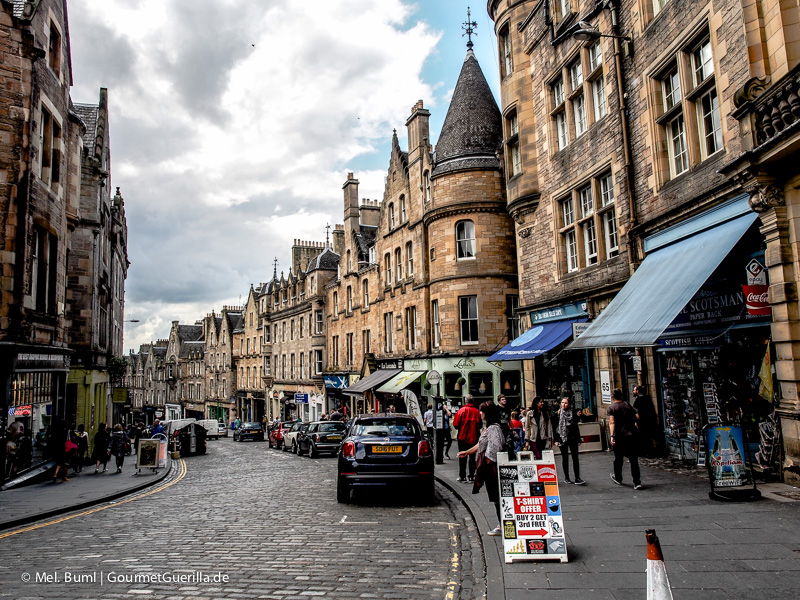 Kurz-Tripp Edinburgh Cockburn Stree|GourmetGuerilla.de