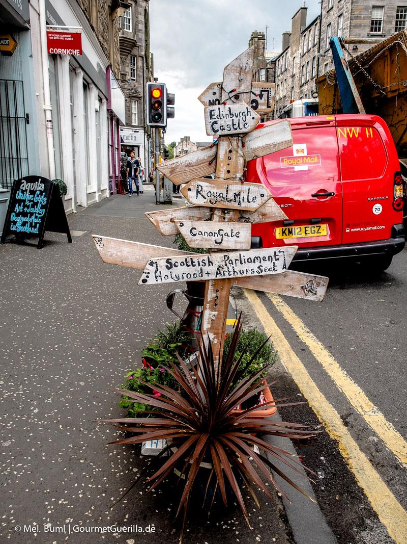 Kurz-Tripp Edinburgh|GourmetGuerilla.de