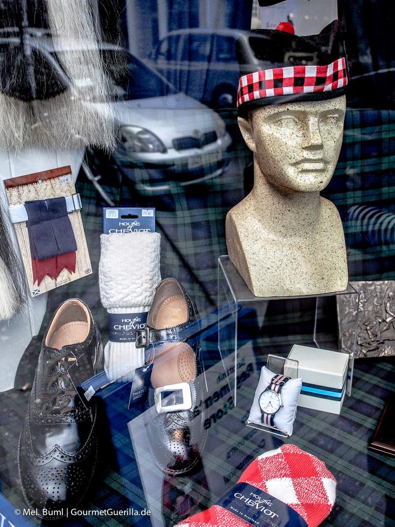 Kurz-Tripp Edinburgh Tartan Schottenkaro|GourmetGuerilla.de