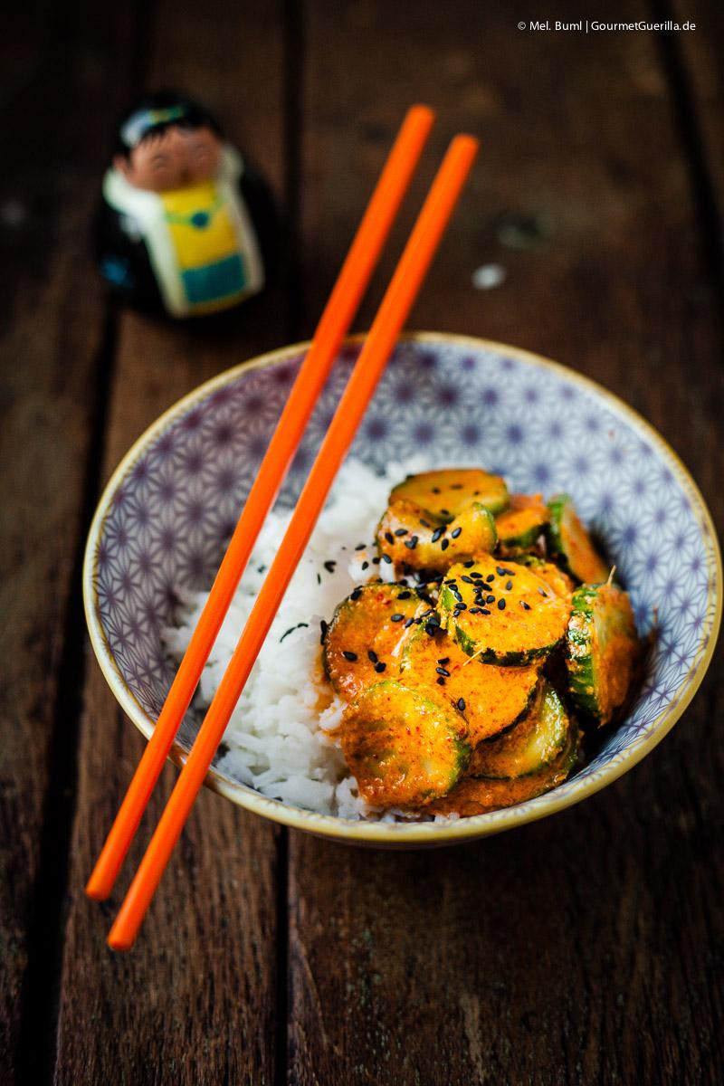 Ready-to-eat Gurken-Kimchi |GourmetGuerilla.de