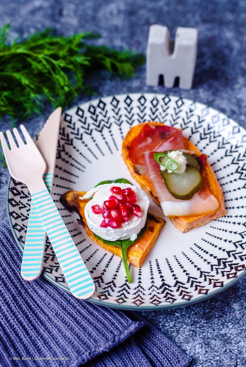 Healthy Low-Carb Snack: Süßkartoffel-Schnittchen aus dem Toaster. Fertig in 5 Minuten! |GourmetGuerilla.de