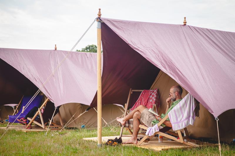 Zelten beim A Summer´s Tale Festival