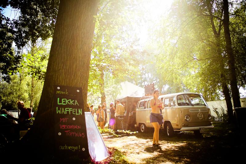 Foodtruck bei A Summer´s Tale Festival