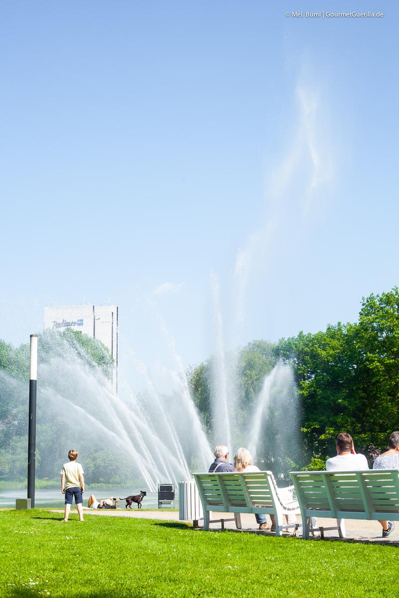 Wasserspiele Planten und Blomen Hamburg |GourmetGuerilla.de
