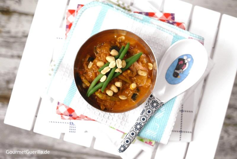 Erdnuss-Auberginen-Suppe |GourmetGuerilla.de