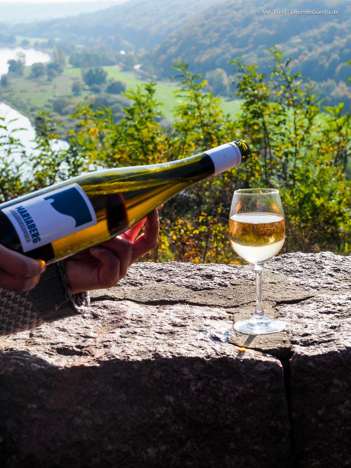 Weinprobe Weinwandern Weingut Mariaberg Anja Fritz |GourmetGuerilla.de