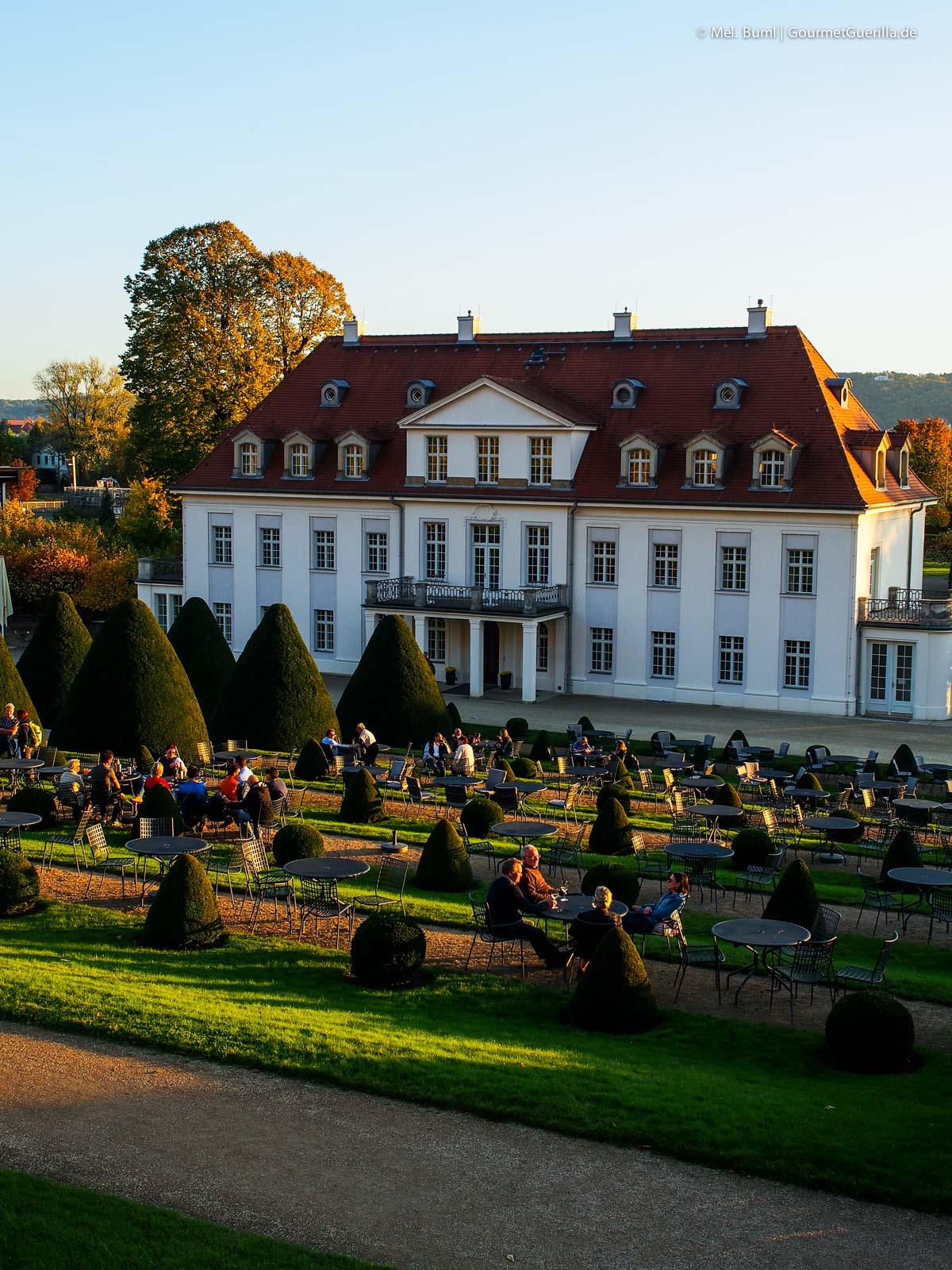 Schloss Wackerbarth Sächsisches Staatsweingut Weinstraße |GourmetGuerilla.de