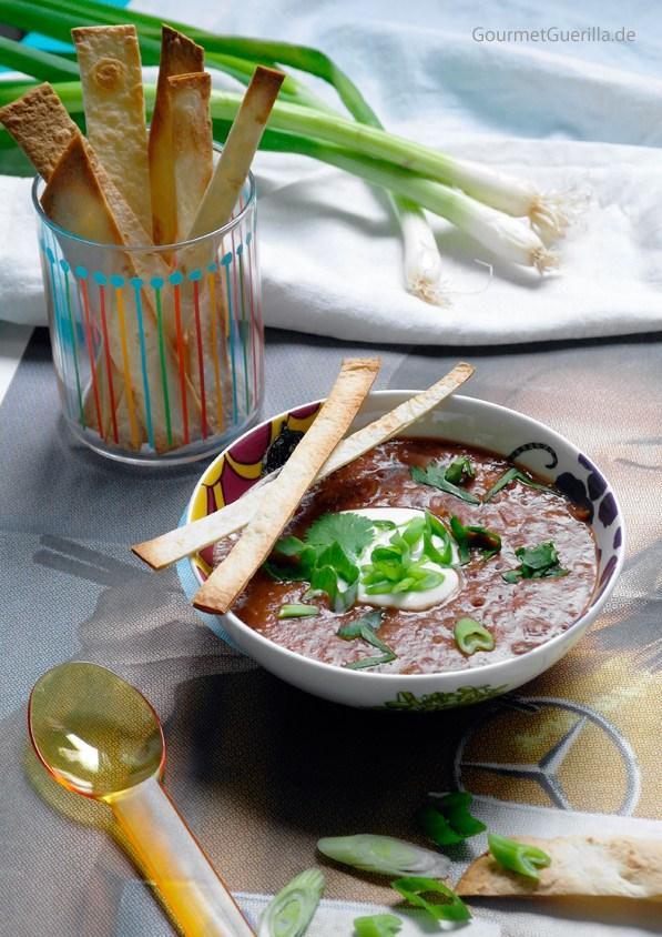 Rote Bohnensuppe Mexican Style |GourmetGuerilla.de