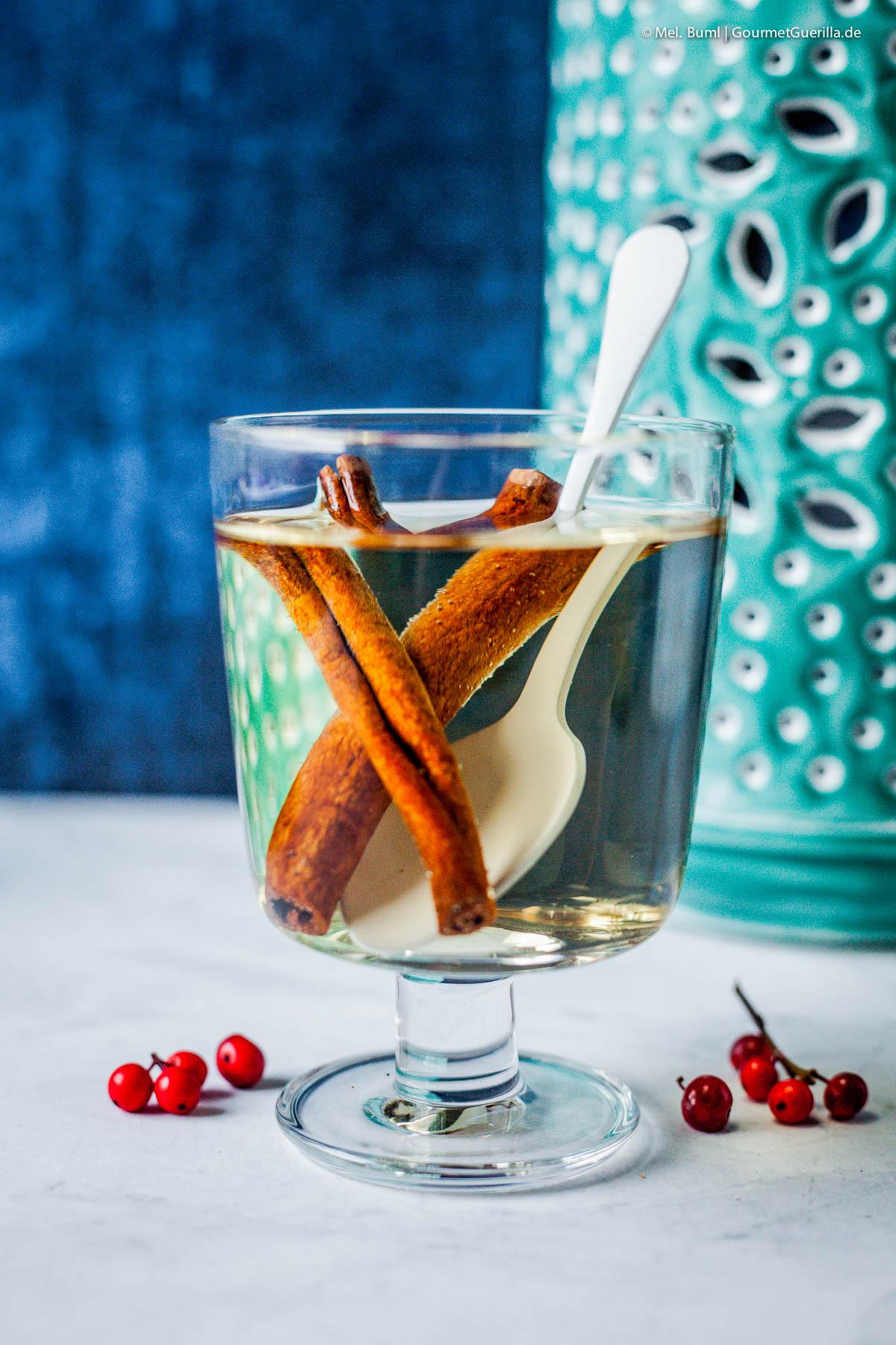 Schneller Apfel-Zimt-Tee –4 süffige und schnelle DYI-Tees für Herbst und Winter |GourmetGuerilla.de