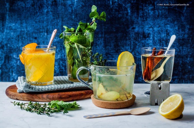 4 süffige und schnelle DYI-Tees für Herbst und Winter  GourmetGuerilla.de