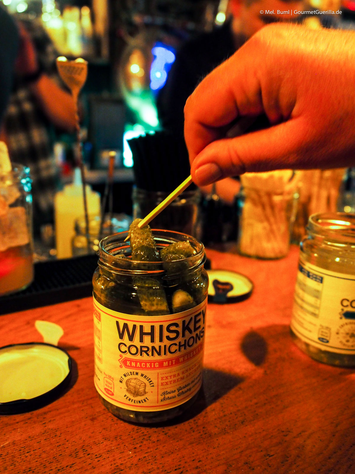 Pickle Smash Whiskey - ein leckerer Drink mit sauren Gürkchen | GourmetGuerilla.de