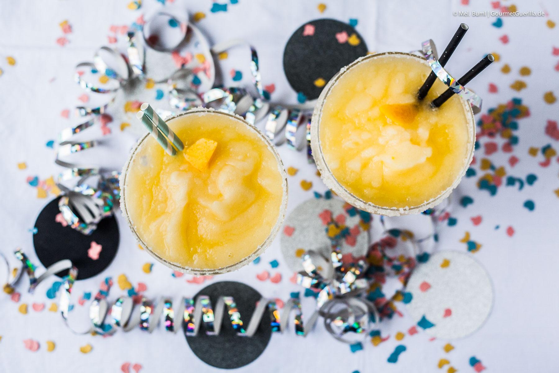 Frozen Pfirsich Margaritas Einfach Schnell Und Richtig Lecker Für