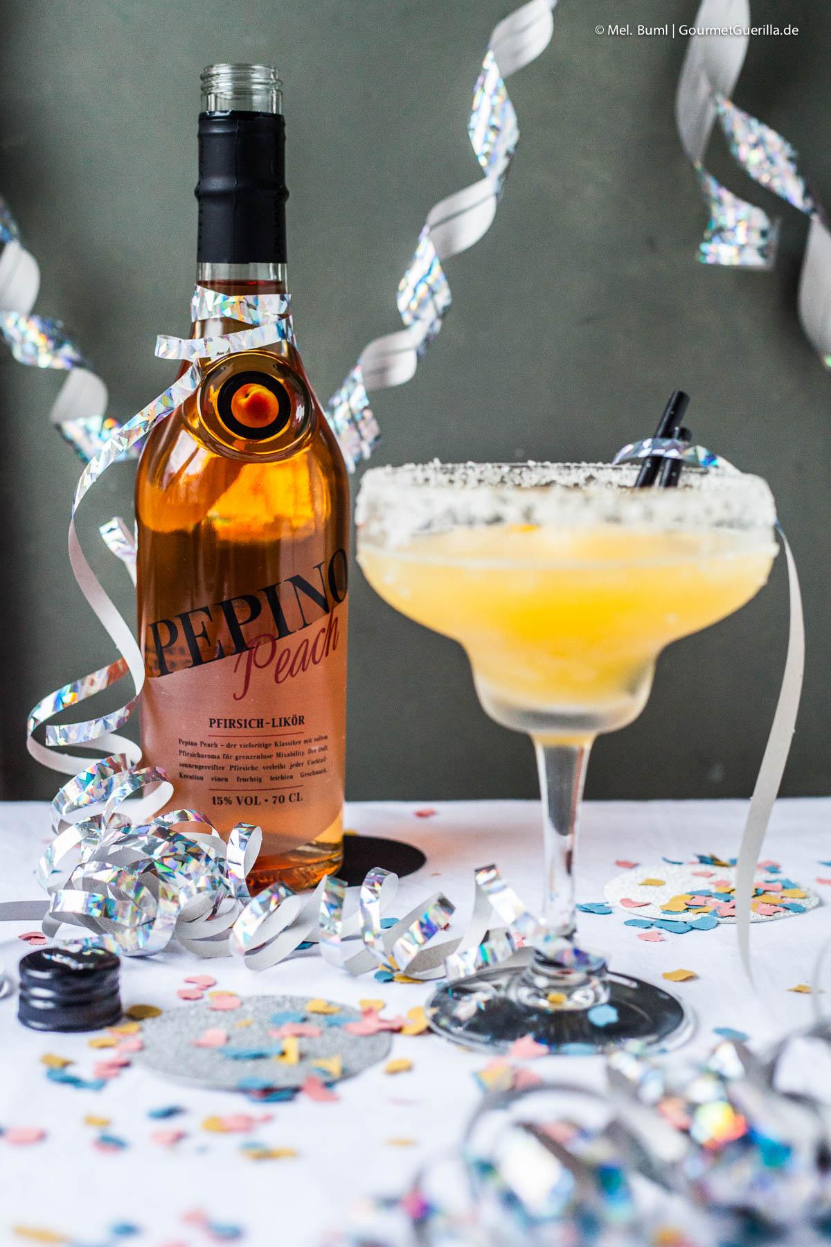 Frozen Pfirsich Margaritas |GourmetGuerilla.de