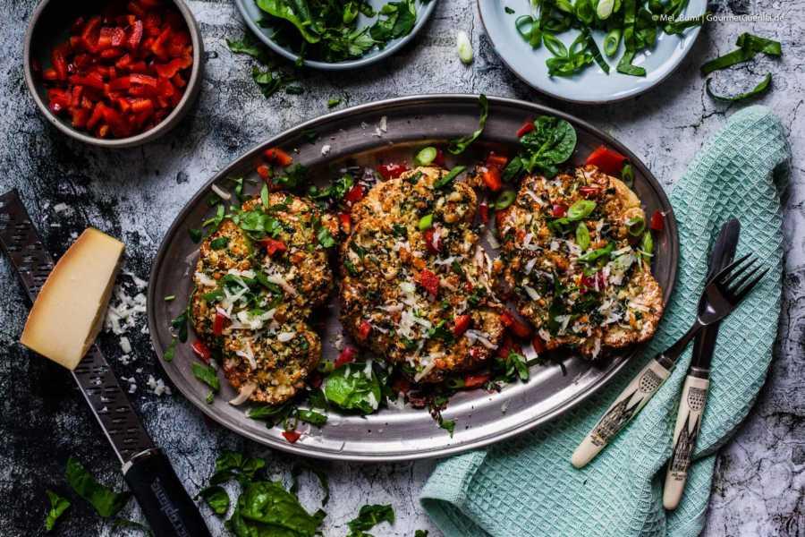 Low Carb Blumenkohl-Steak mit knuspriger Jalapeno-Kaesekruste unter 300 kcal |GourmetGuerilla.de-8433