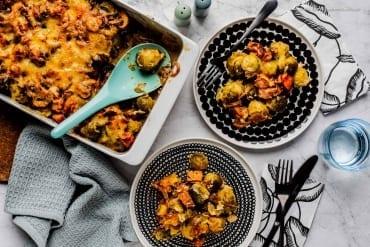Low Carb Rosenkohl-Auflauf mit Kassler |GourmetGuerilla.de