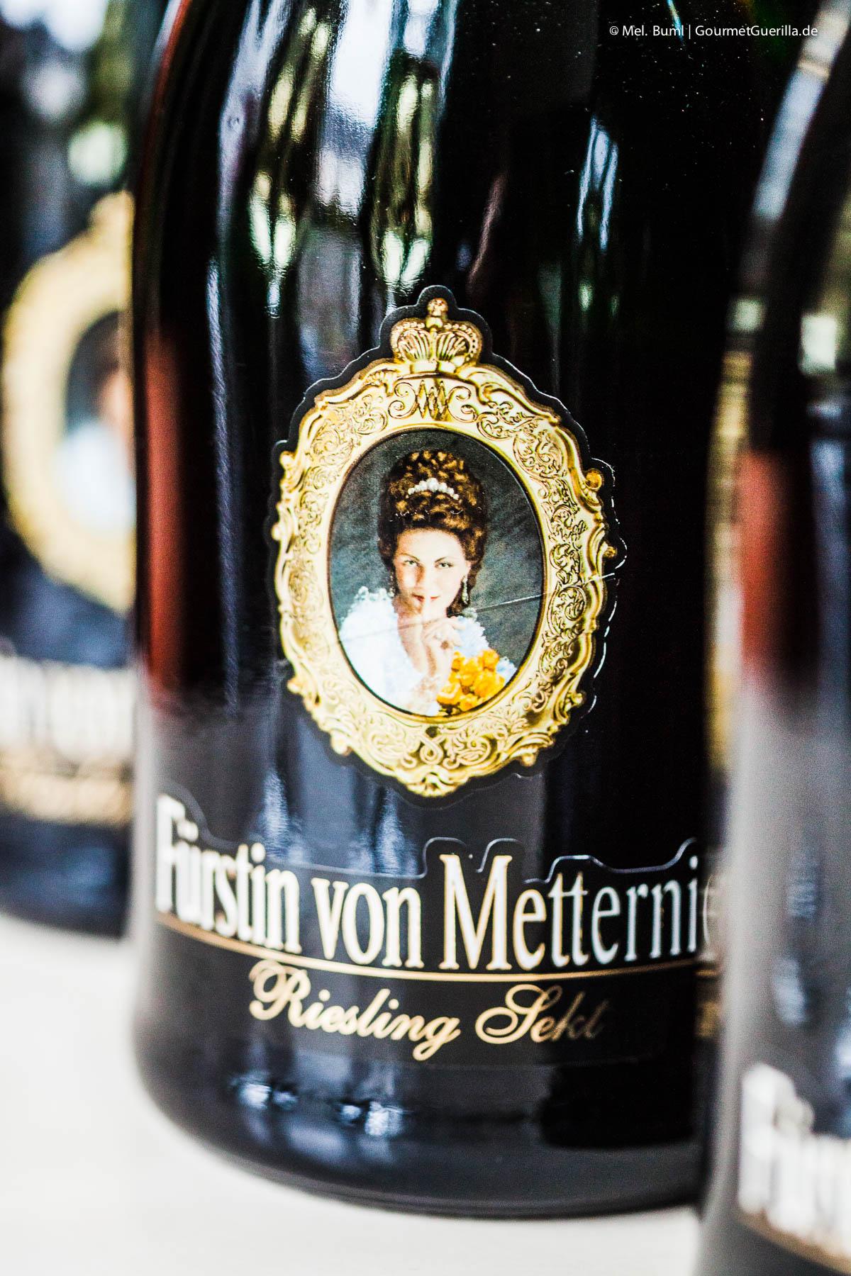 Cheers zum Weltfrauentag - Sekt Sonderedition Fürstin von Metternich |GourmetGuerilla.de