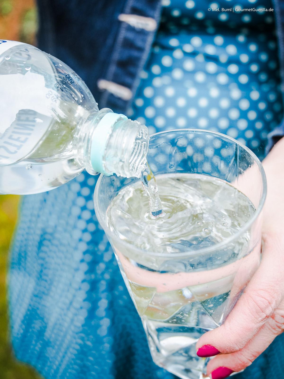 Trink-Challenge 2018 - 2,5 Liter Mineralwasser pro Tag |GourmetGuerilla.de