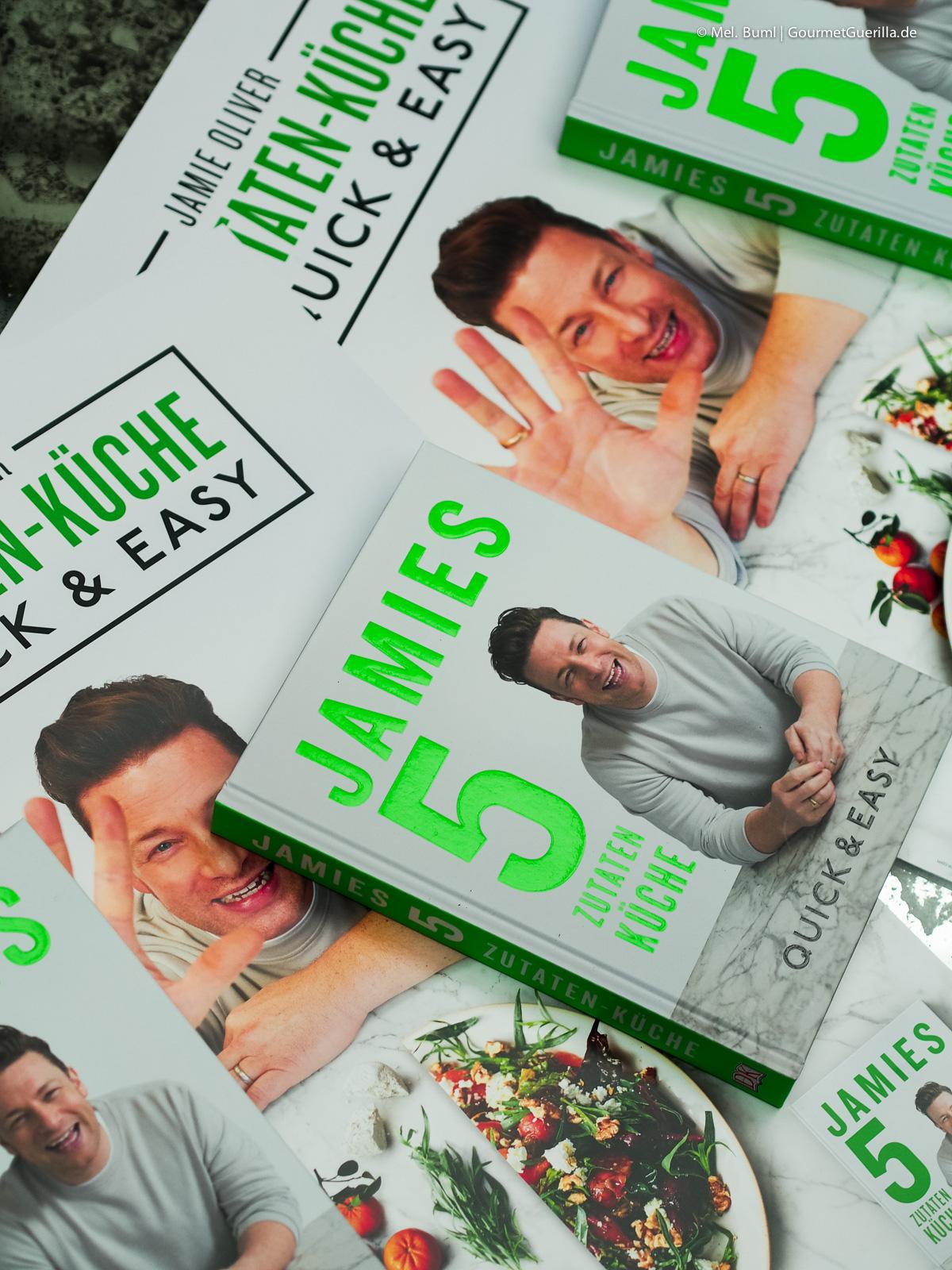 Kochbuch Jamies 5 Zutaten Küche GourmetGuerilla meets Jamie Oliver |GourmetGuerilla.de