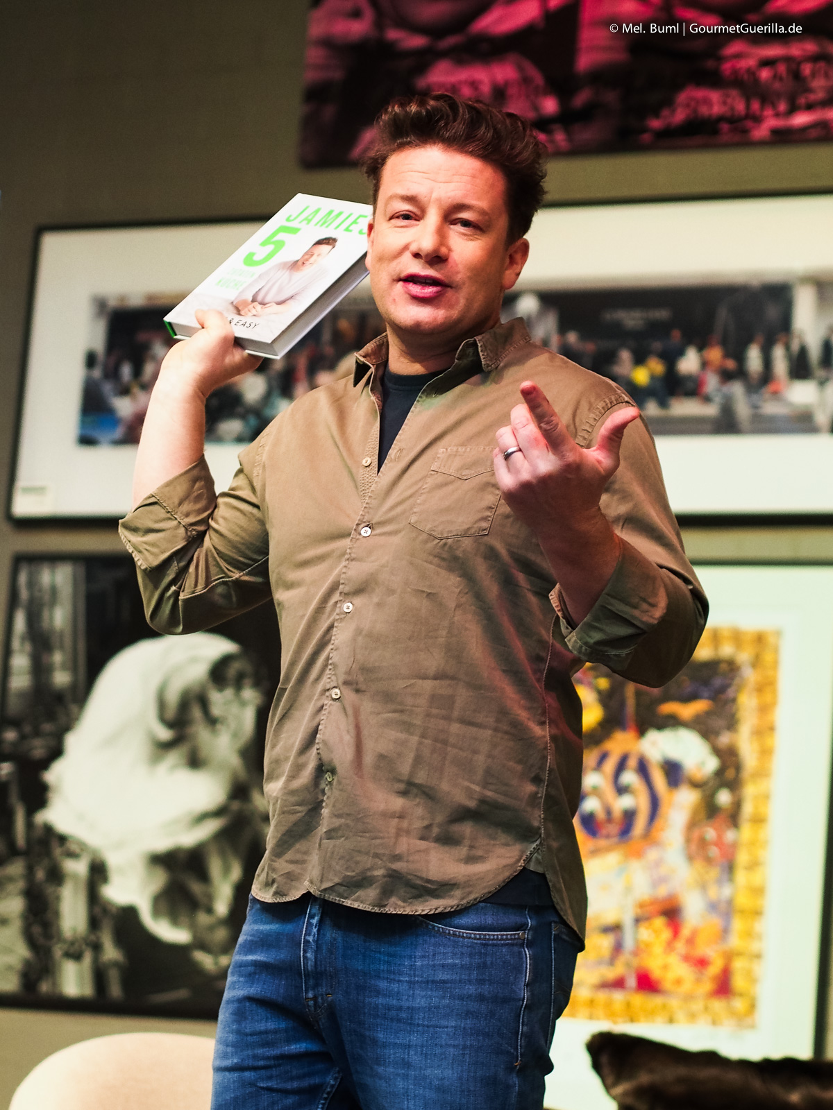 GourmetGuerilla meets Jamie Oliver |GourmetGuerilla.de