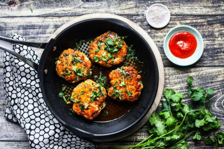 Schnelle Asia-Fischfrikadellen nach Jamie Oliver |GourmetGuerilla.de