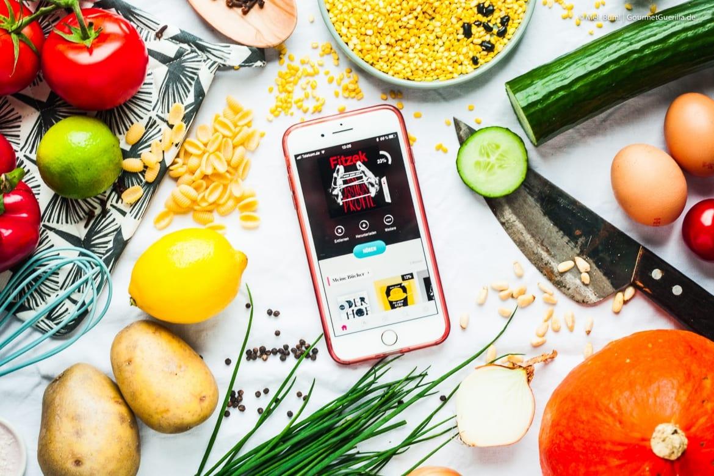 Hoerbuch-Flatrate beim Kochen mit BookBeat  GourmetGuerilla.de