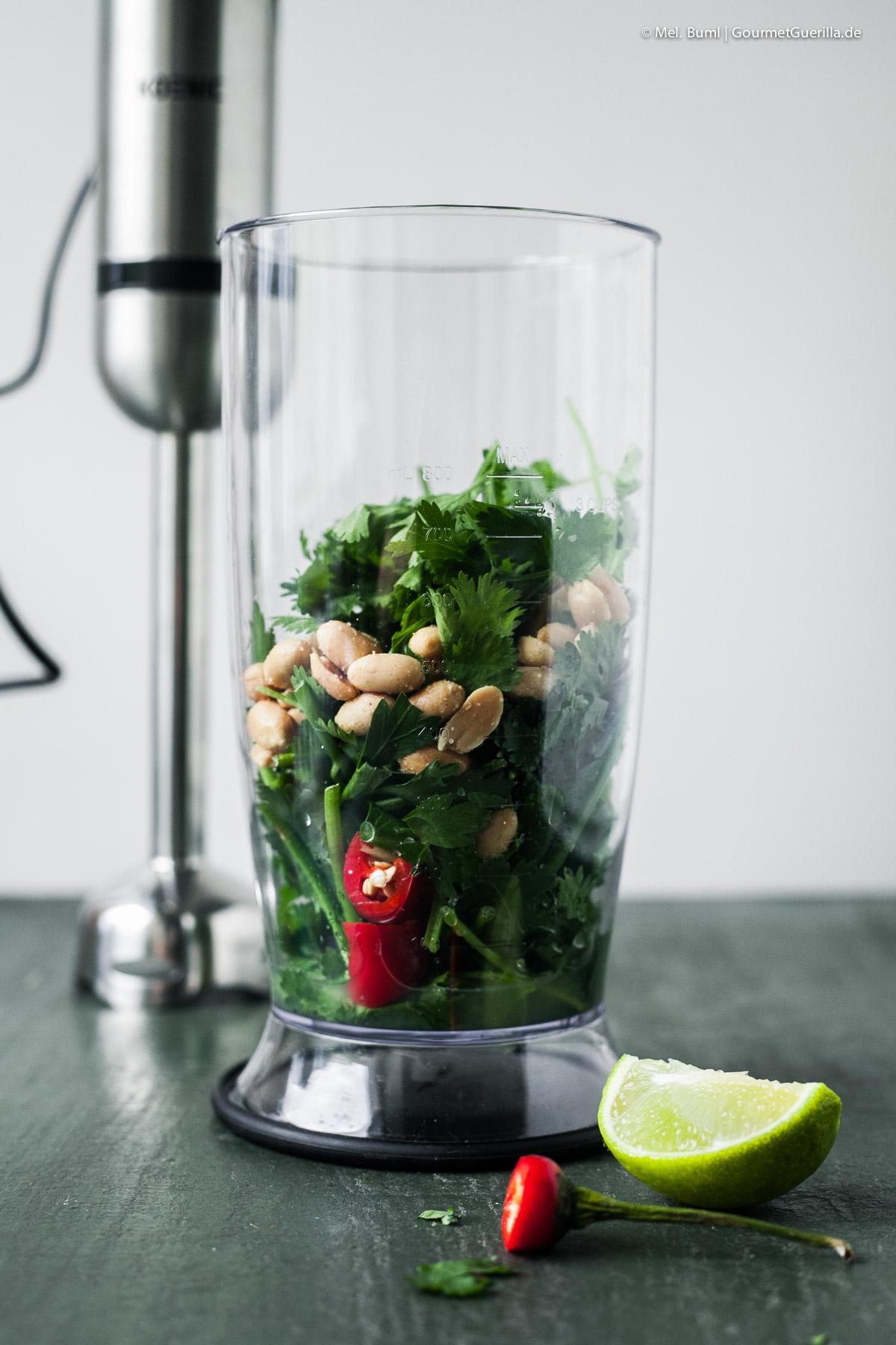 Asia-Pesto selber machen |GourmetGuerilla.de