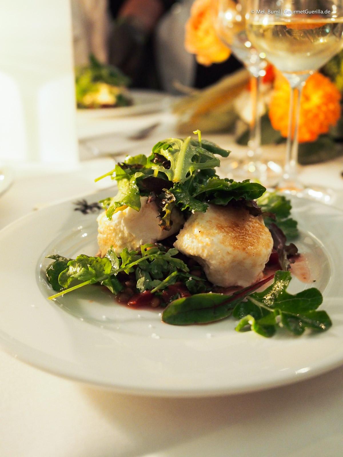 Vorspeise Dinner Bonduelle Academy |GourmetGuerilla.de