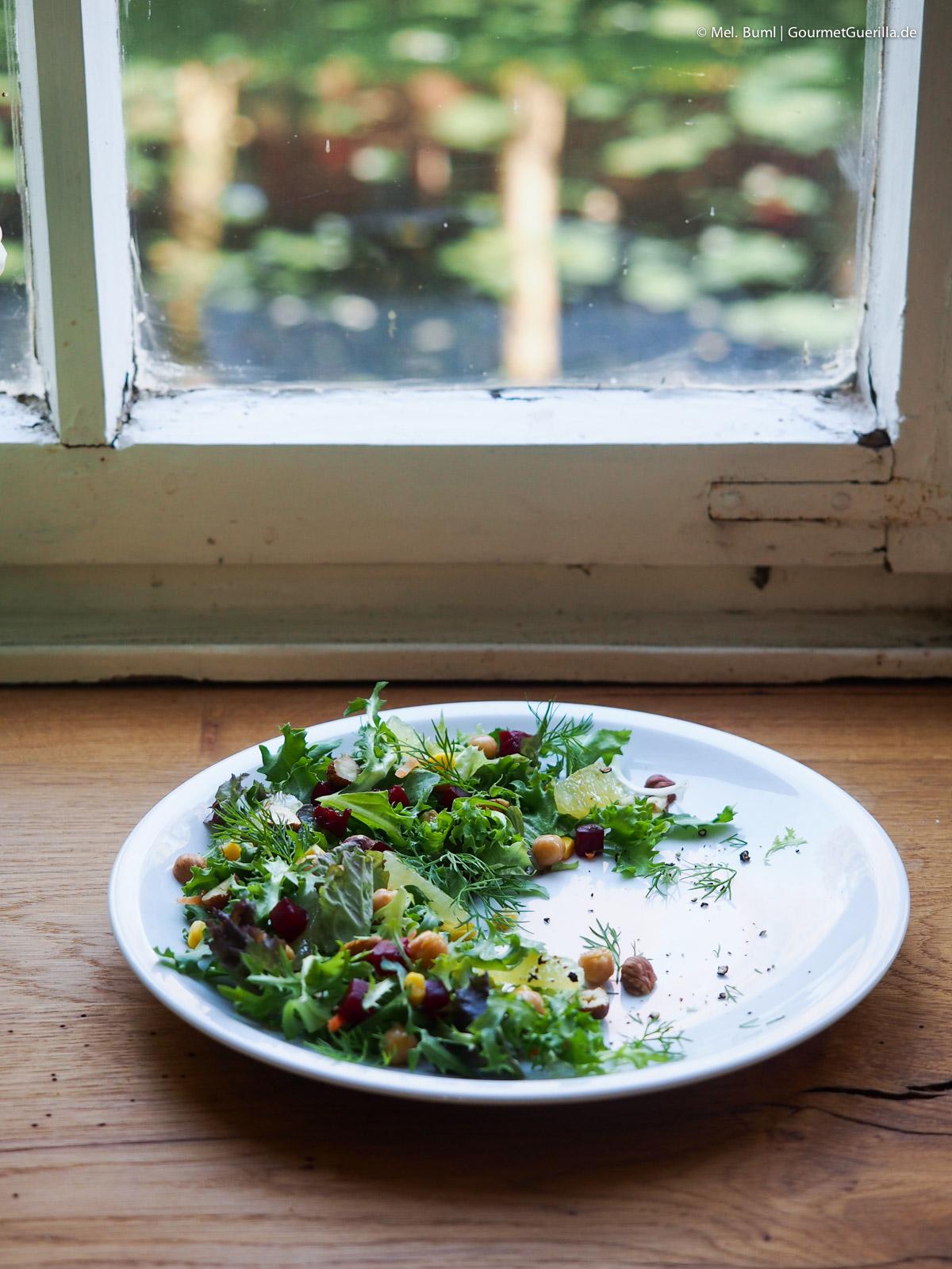 Sebastian Franke Bonduelle Academy Salat anrichten |GourmetGuerilla.de