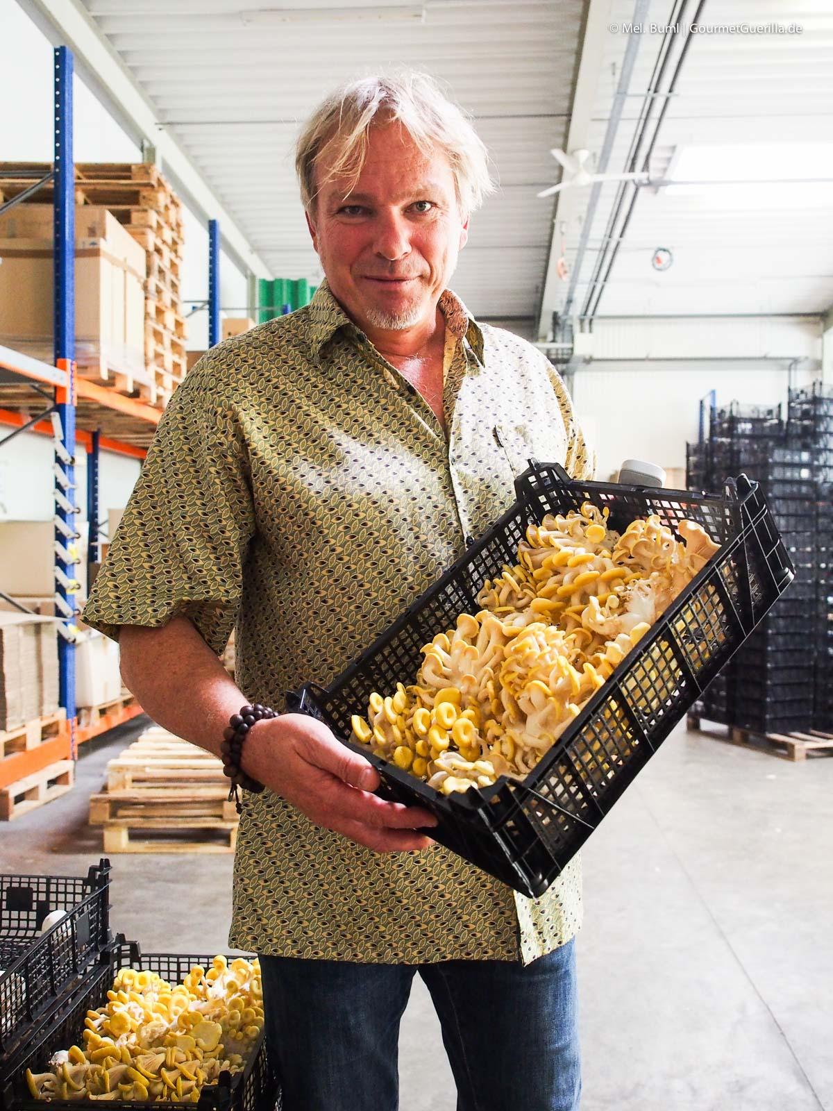 Torsten Jonas Pilzgarten Helvesiek Demeter Edelpilze |GourmetGuerilla.de
