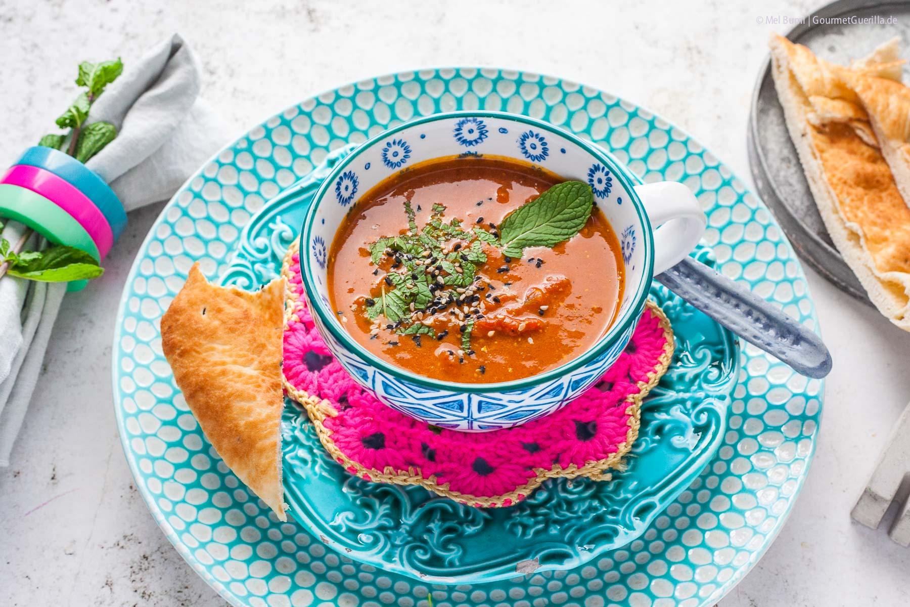 Indische Tomatensuppe |GourmetGuerilla.de