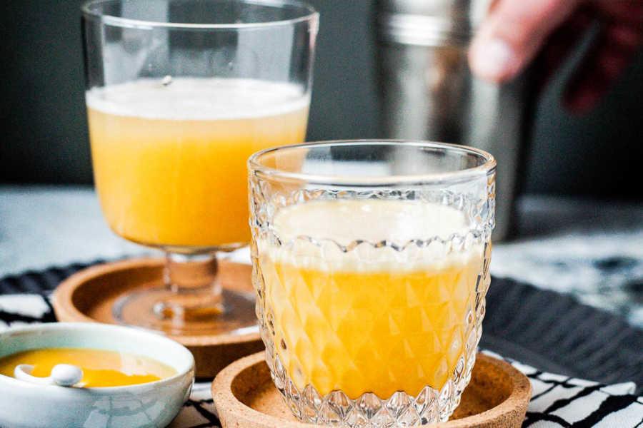 Vanilla Pumpkin Thriller ein Happy Halloween Cocktail   GourmetGuerilla.de