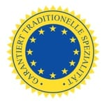 Siegel g.t.S. garantiert traditionelle Spezialität