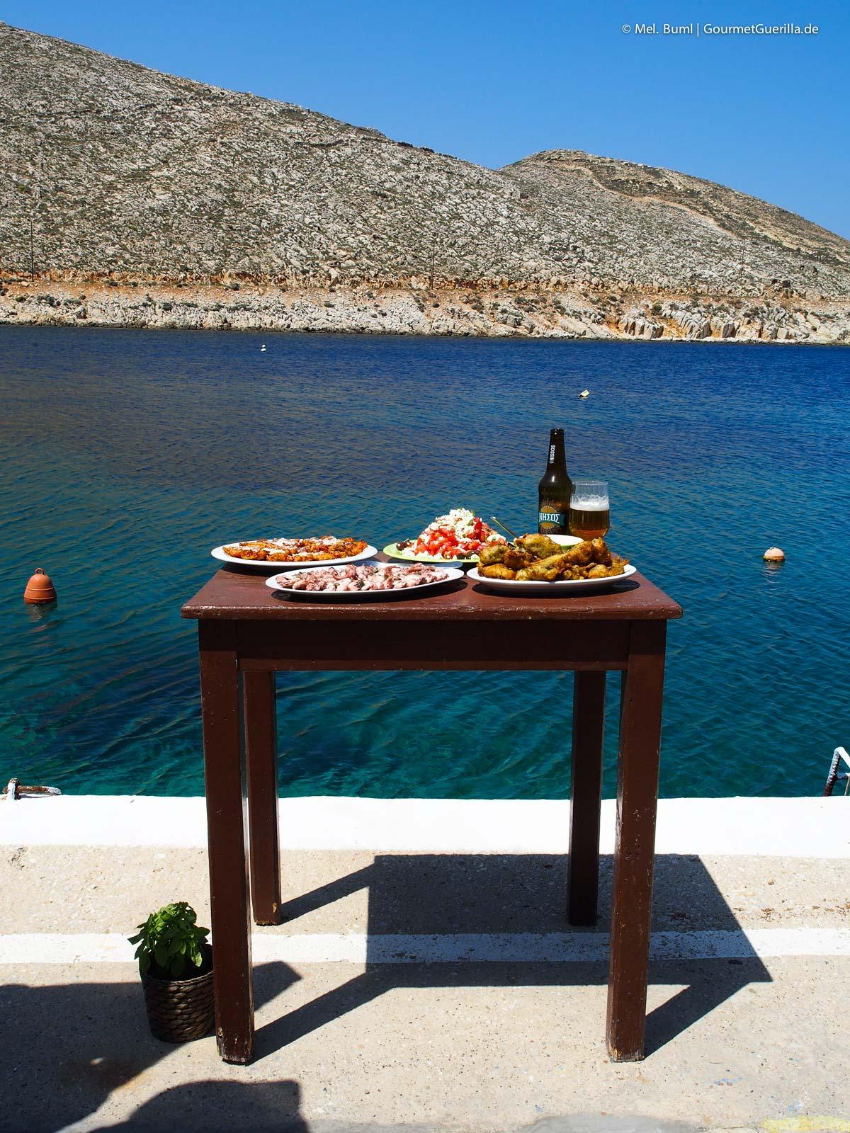 Essen am Meer Reisebericht Tinos Foodpath griechische Insel Kykladen Griechenland |GourmetGuerilla.de