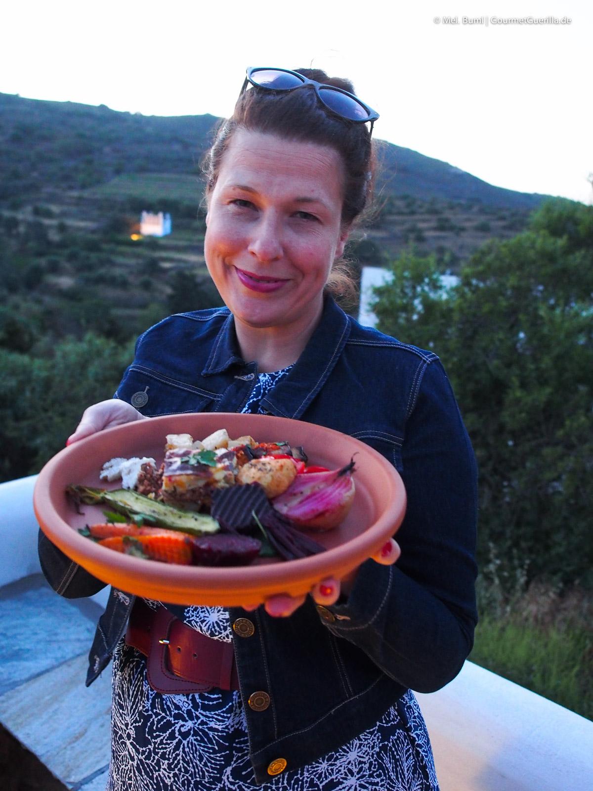 Essen aus regionalen Produkten Reisebericht Tinos Foodpath griechische Insel Kykladen Griechenland |GourmetGuerilla.de