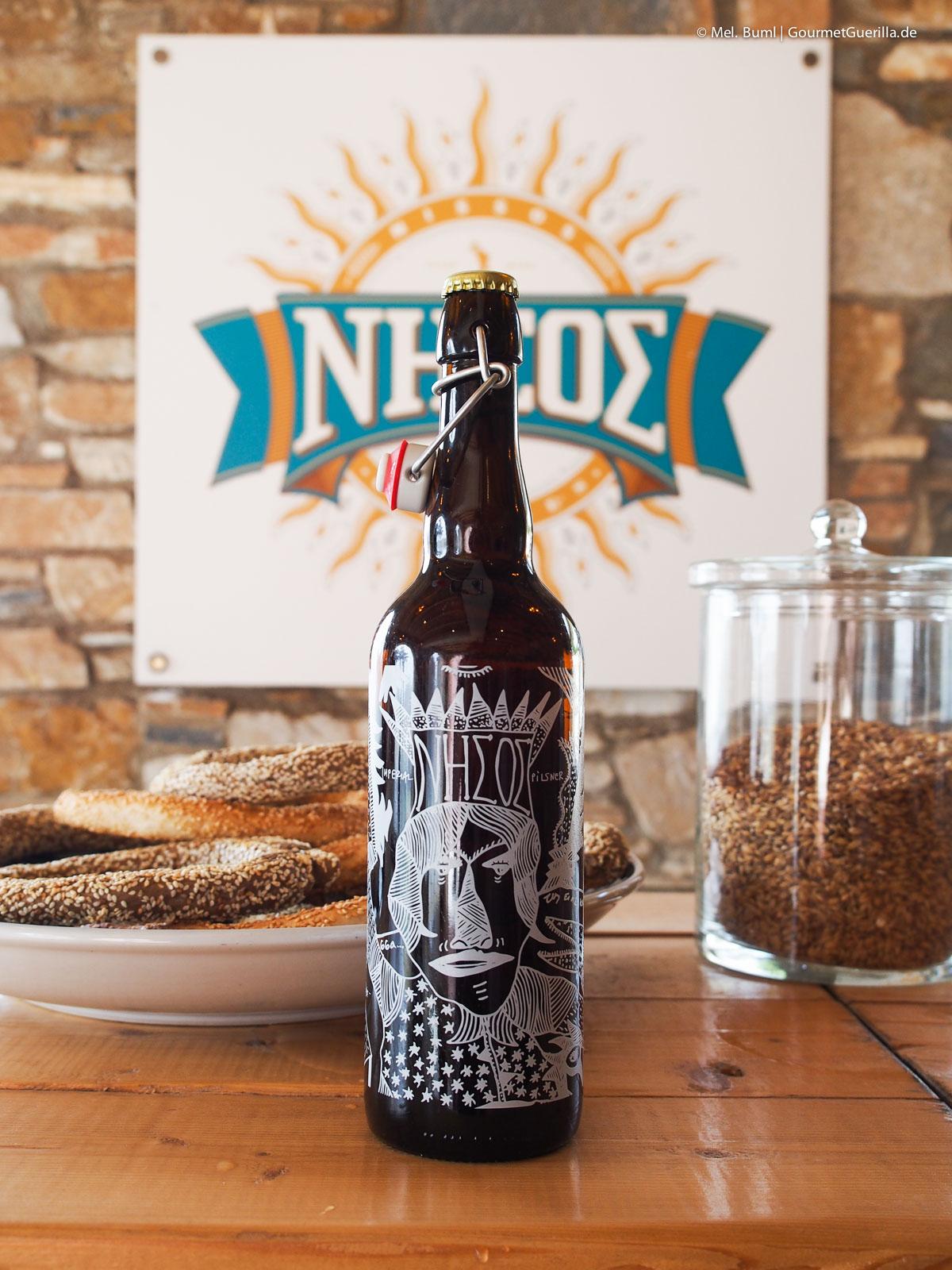 Nissos Bier Reisebericht Tinos Foodpath griechische Insel Kykladen Griechenland |GourmetGuerilla.de