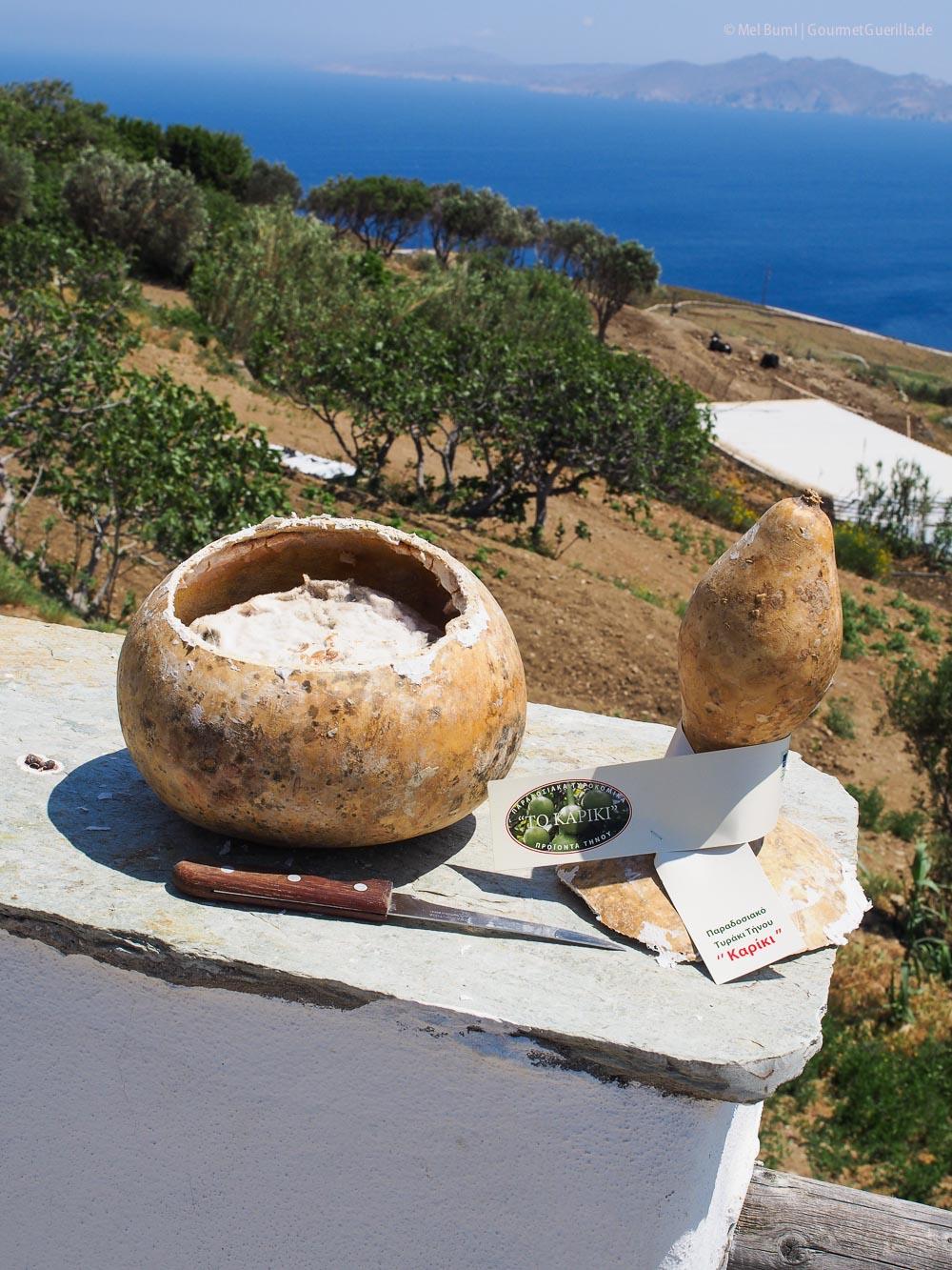 Kapiki Reisebericht Tinos Foodpath griechische Insel Kykladen Griechenland |GourmetGuerilla.de