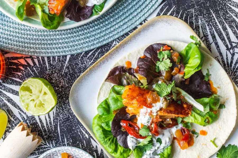 Rauchige Fisch-Tacos mit Limetten-Koriander-Mayo und Jalapenos –Sommerrezept mit Kanadischem Ahornsirup |GourmetGuerilla.de