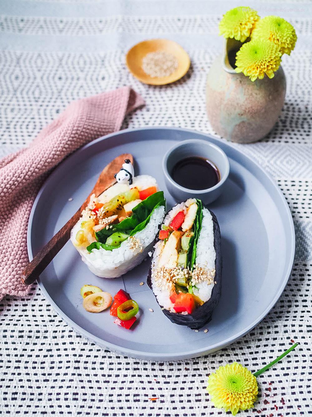 Japanisches Reissandwich | GourmetGuerilla.de