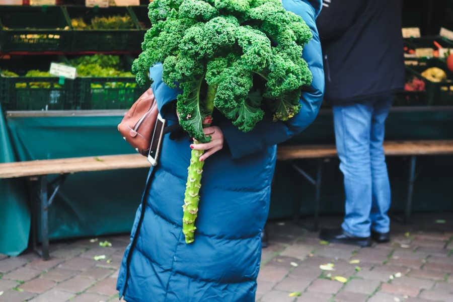 Bauernmarkt Oldenburg Grünkohl |GourmetGuerilla.de
