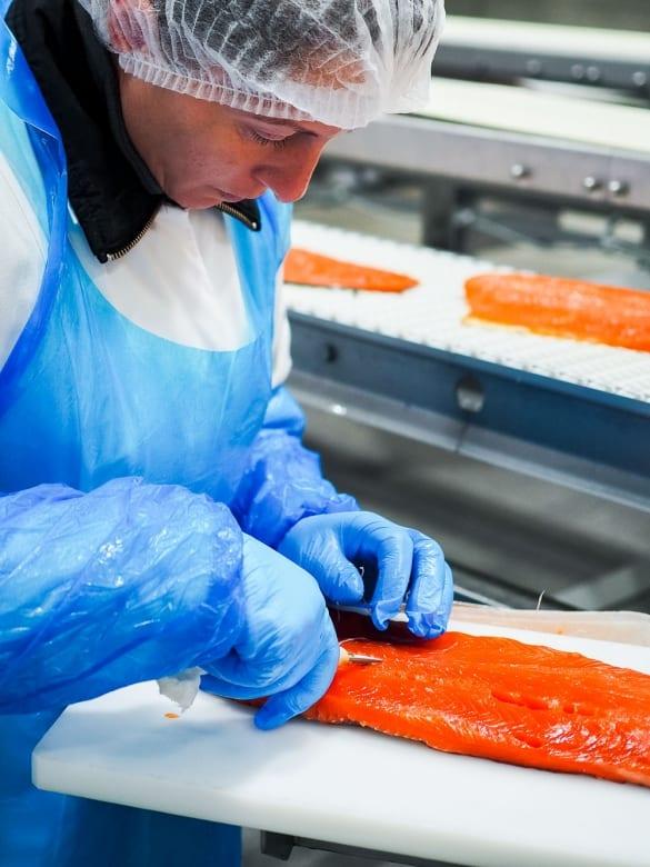 Friedrichs Feinfisch Manufaktur Herstellung und Veredelung von Alaska-Wildlachs  GourmetGuerilla.de