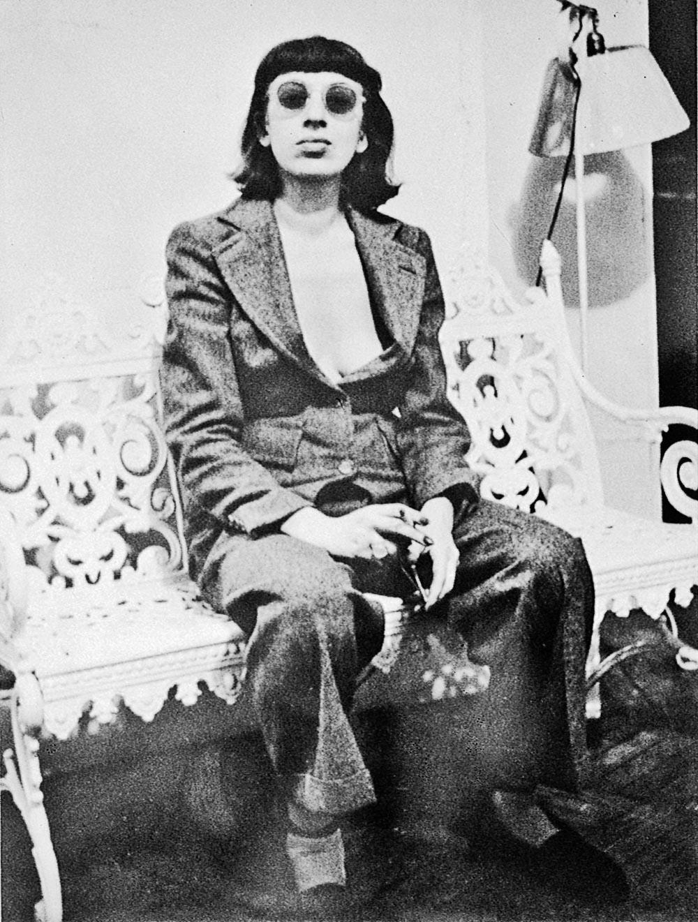 Lee Krasner, ca. 1938, unbekannter Fotograf.