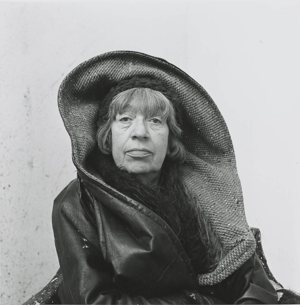 Lee Krasner, Springs, NY, 1972 © The Irving Penn Foundation, Foto: Irving Penn