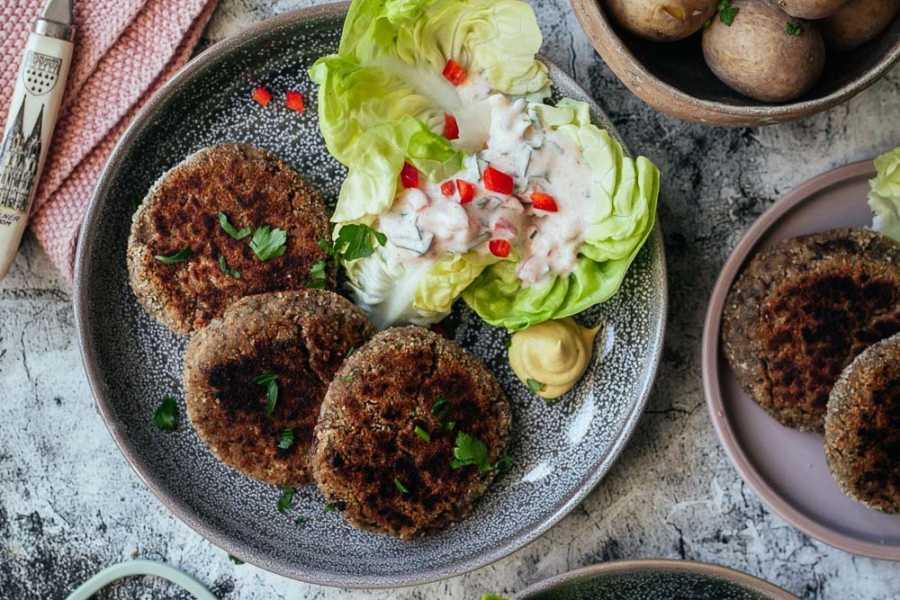 Weltbeste Vegetarische Champignon-Frikadellen nach Oma Greta |GourmetGuerilla.de