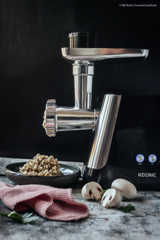 Zubereitung vegetarische Champignon-Frikadellen nach Oma Greta |GourmetGuerilla.de