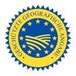 EU Siegel g.g.A geschützte geografische Angabe