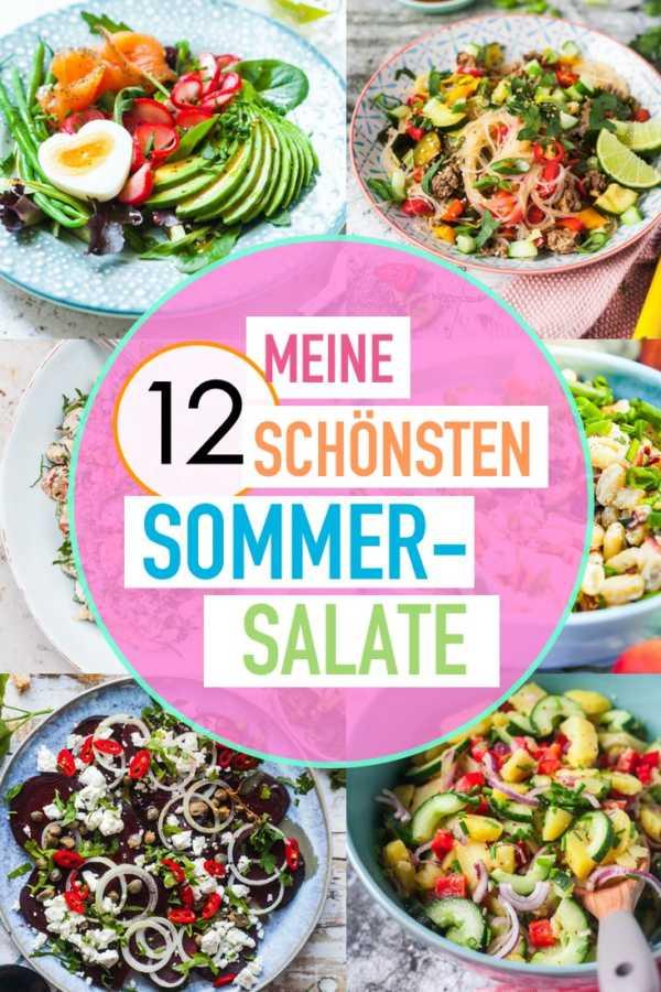 Meine 12 schönsten Sommersalate |FoxyFood.de