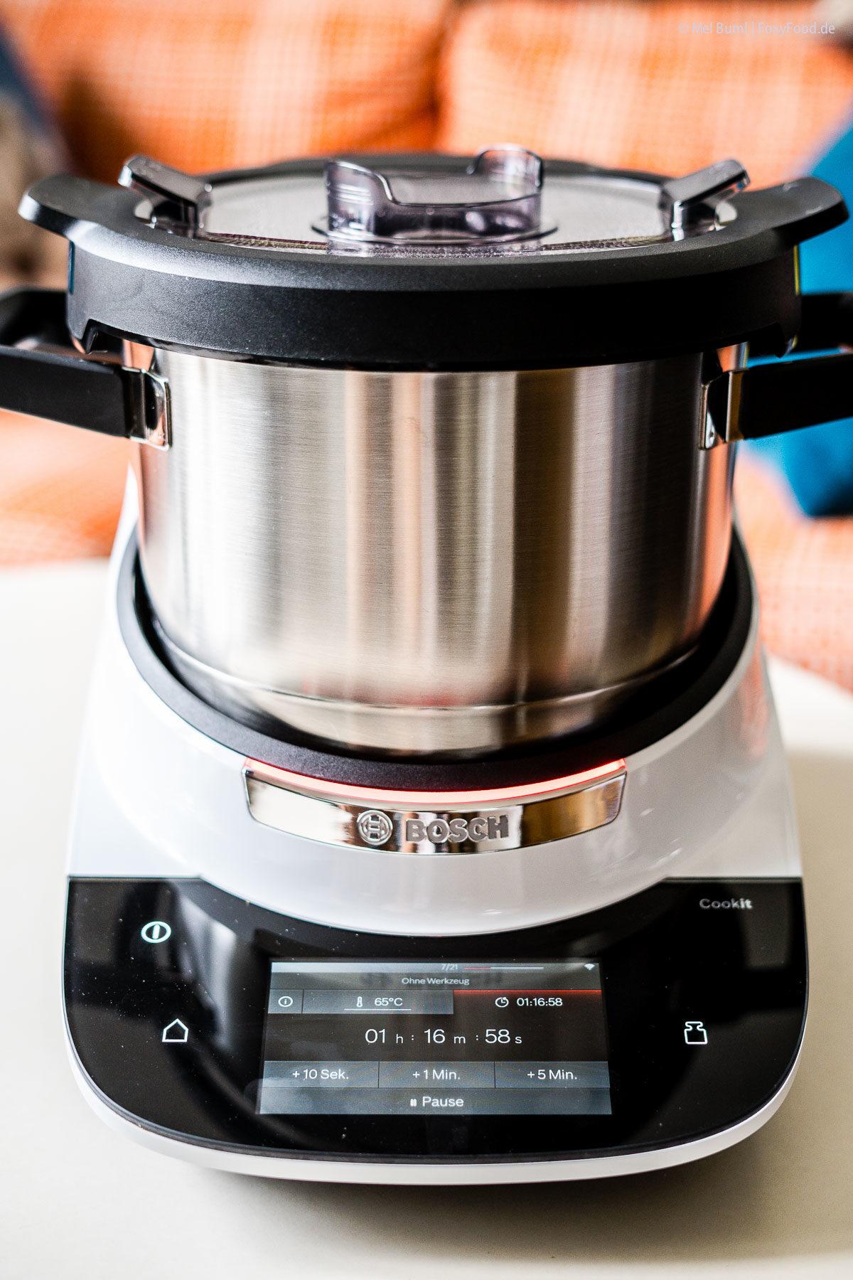 Cookit von Bosch in der täglichen Anwendung |FoxyFood.de