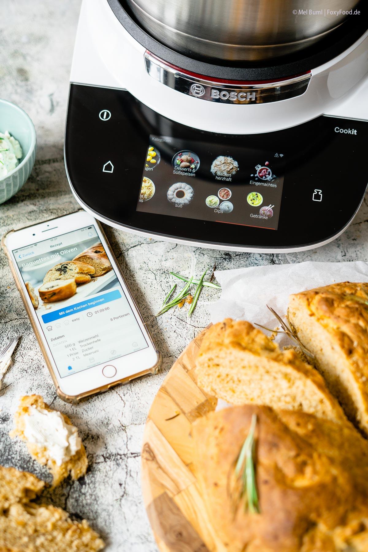 Brotbacken mit dem Bosch Cookit |FoxyFood.de