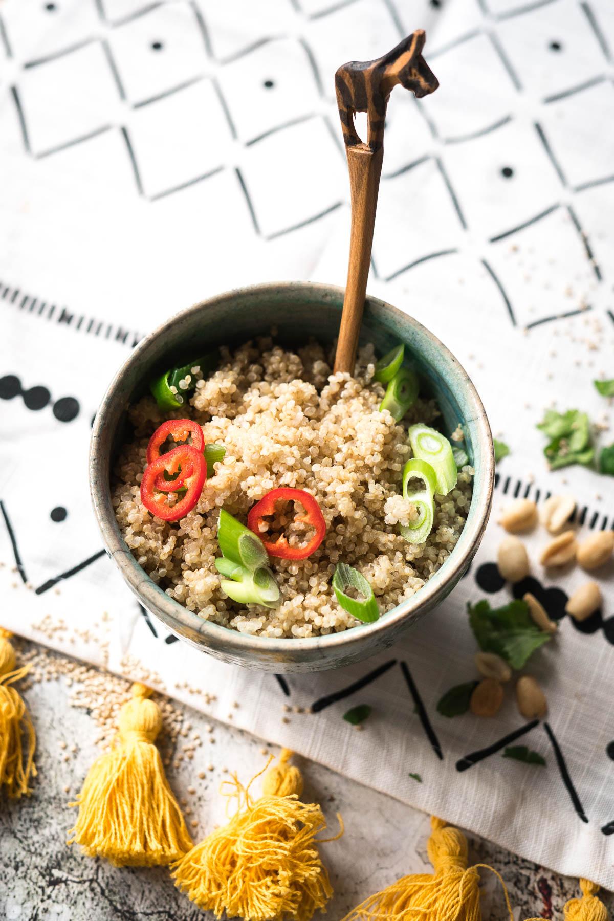Afrikanische Quinoa von ZUVA fair gehandelt und nachhaltig gebaut |FoxyFood.de